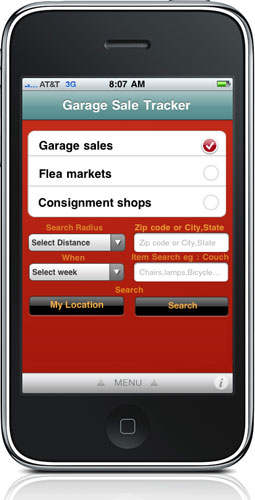 i m lovin it garage sale tracker there s an app for that